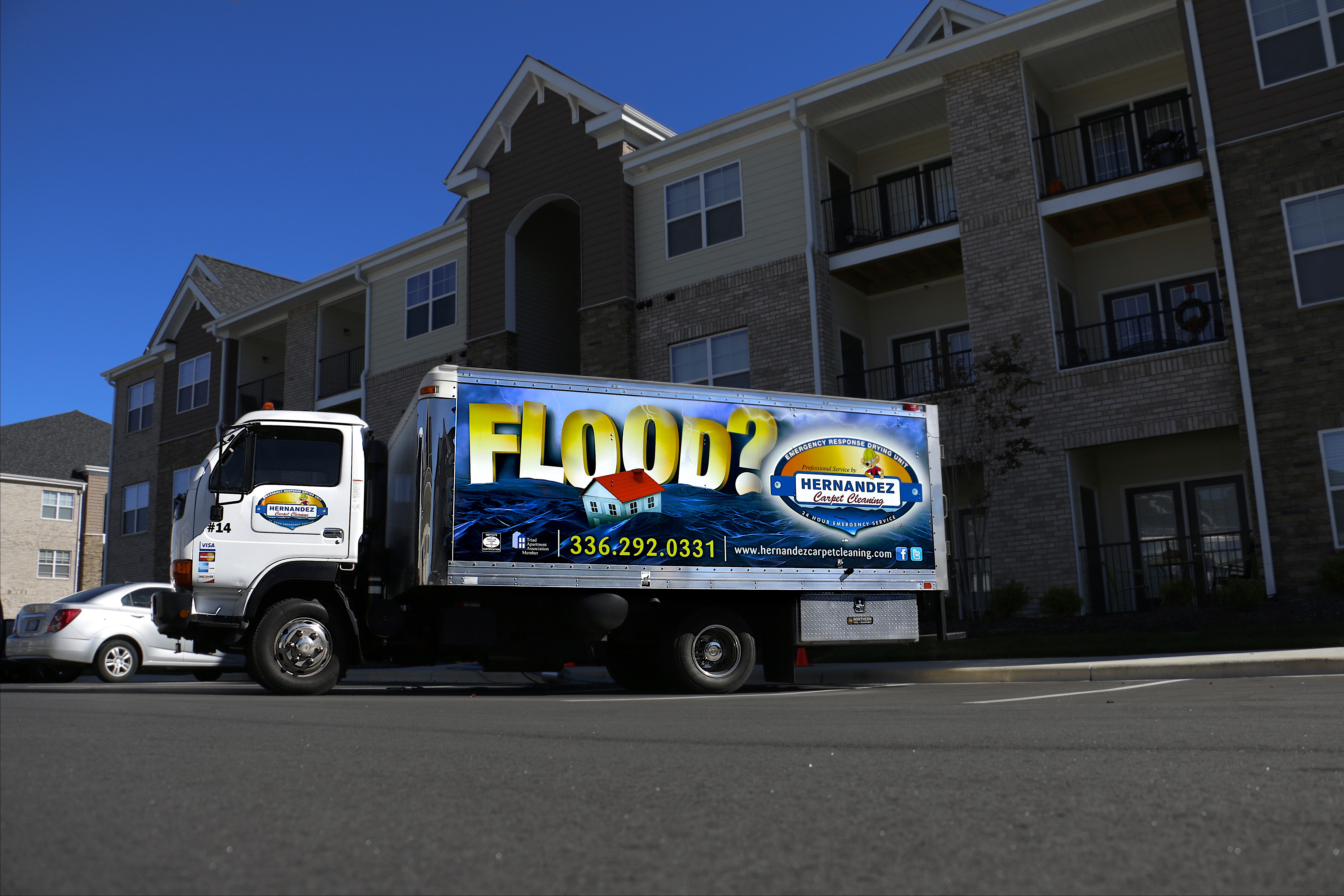 Apartment Water Damage And Extraction Hernandez Carpet