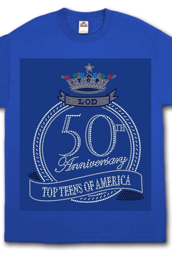 TTA 50th Anniversary Bling Tee Out Of Stock